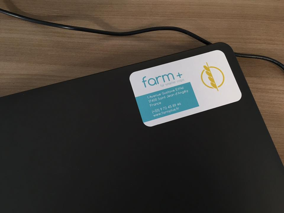 farm plus PC sticker
