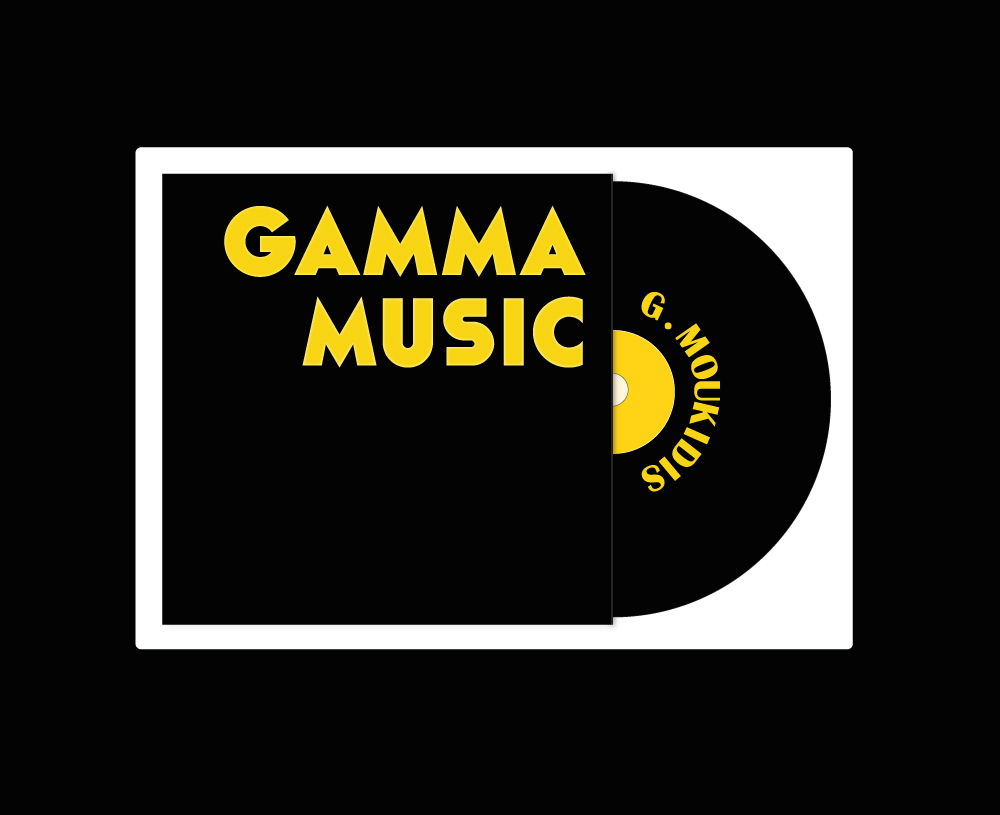 Gamma Music music production company logo